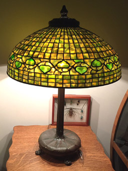 tiffany studios acorn lamp