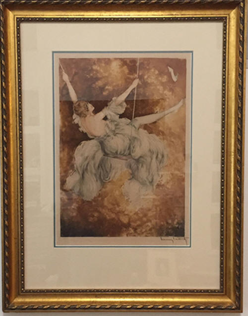 swing etching louis icart