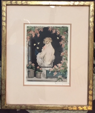summer etching louis icart