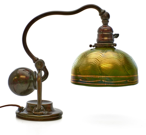 tiffany studios counterbalance lamp