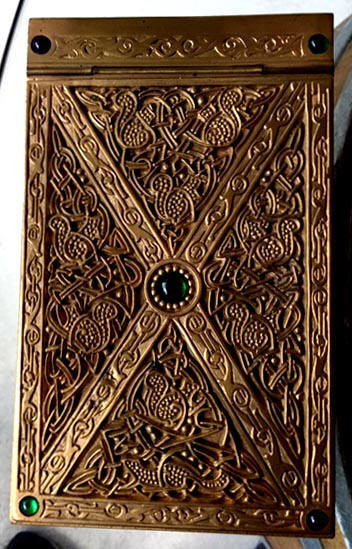 tiffany studios Ninth century note pad