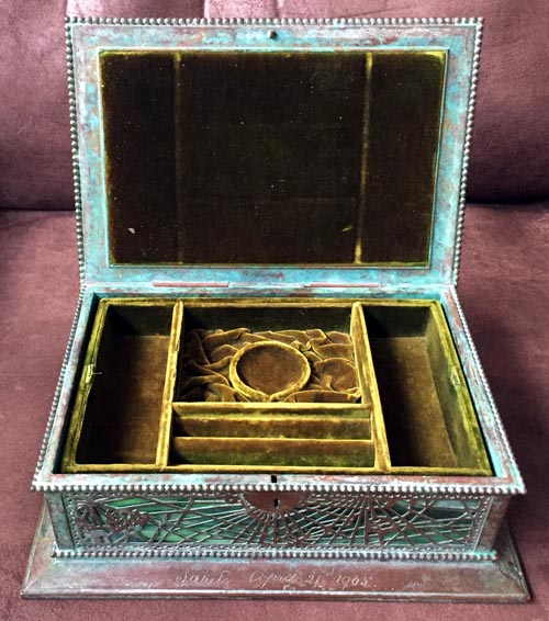 tiffany jewel box
