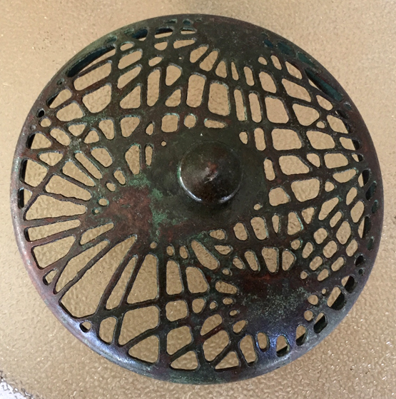 tiffany pine needle heat cap 3""